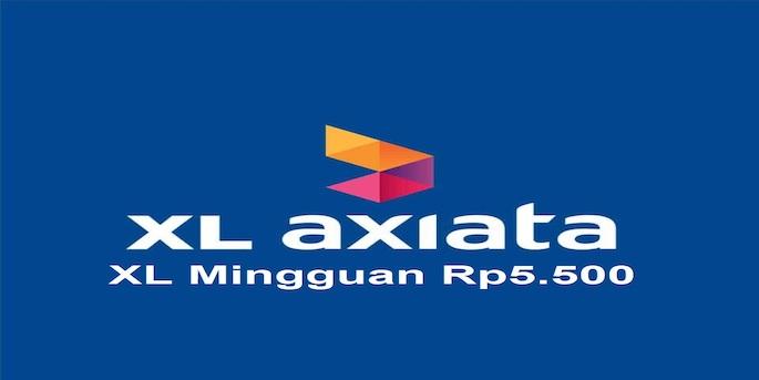 XL Mingguan Rp5.500