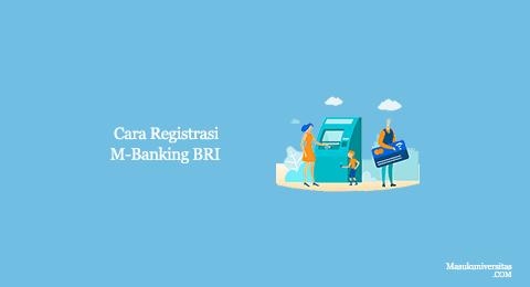 cara registrasi m banking bri