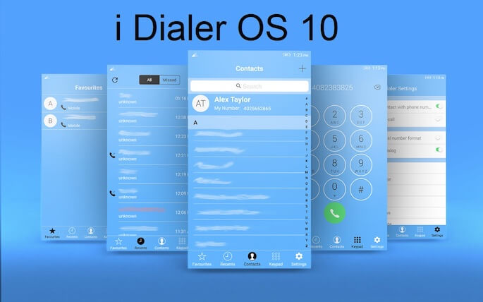 i Dialer OS 10