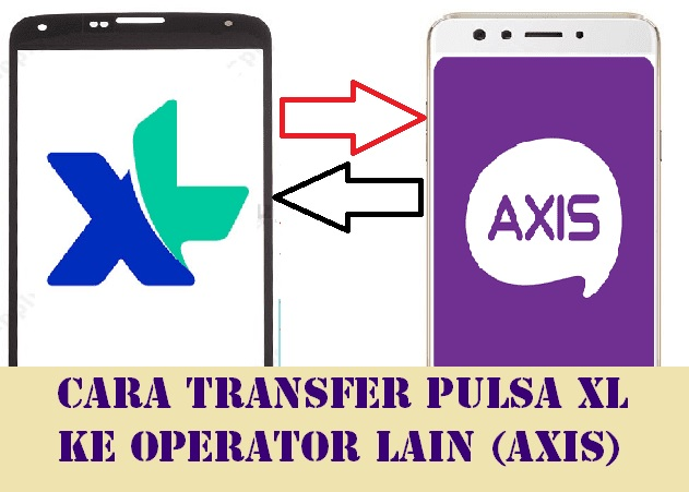 Bagi Pulsa XL ke Axis
