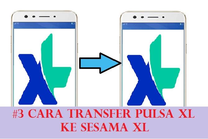 Bagi Pulsa XL ke XL