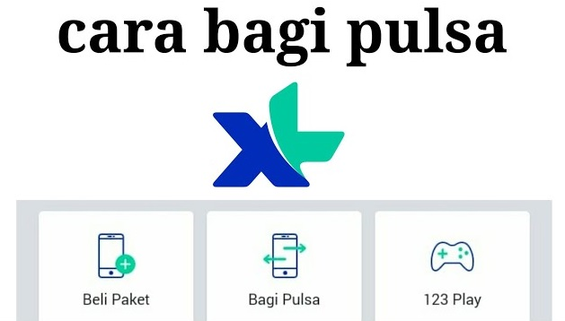 Buka aplikasi MyXL. Setelah halaman utama terbuka, pilih menu Bagi Pulsa.