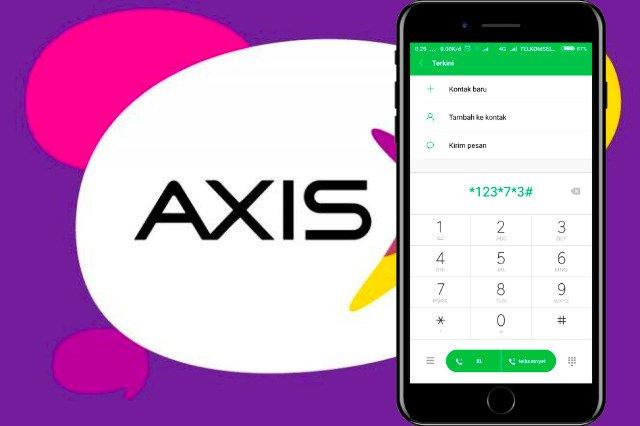 Cara Melihat Kuota Internet Axis Dengan Menggunakan Kode