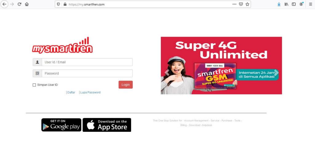 cara melihat masa berlaku kartu smartfren dengan website