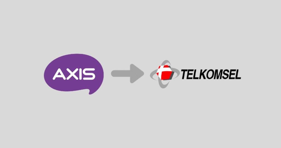 Cara Transfer pulsa Axis ke Telkomsel
