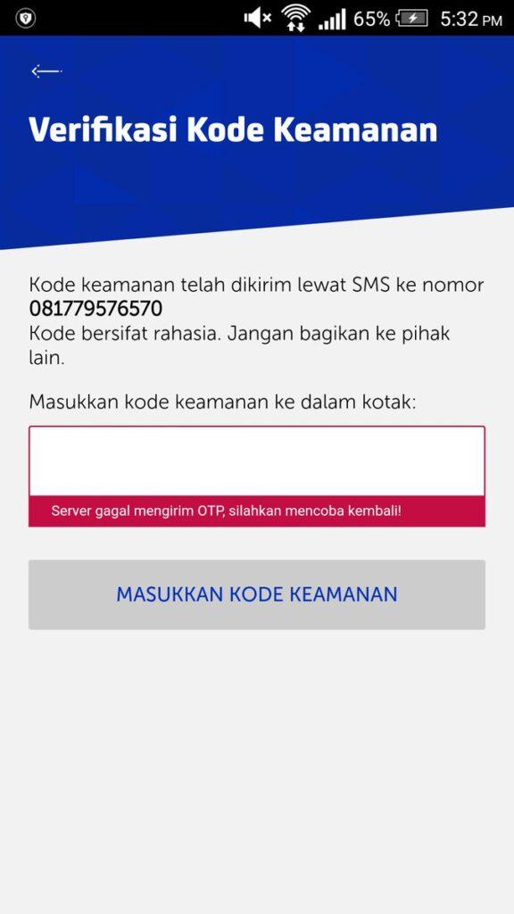Dari nomor yang Anda isikan tersebut, secara otomatis XL akan mengirimkan kode OTP yang berupa 6 digit angka. Selanjutnya ketikkan kode tersebut pada kolom yang disediakan.