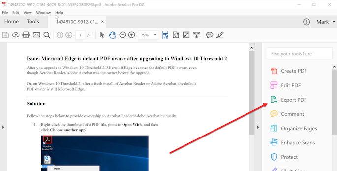 Menggunakan Adobe Acrobat Pro DC