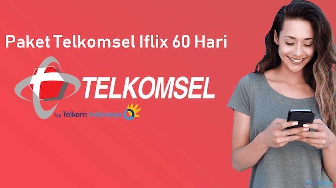 cara memaketkan Telkomsel Iflix 60 Hari