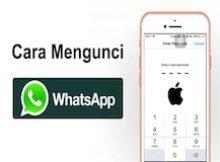 cara mengunci whatsapp